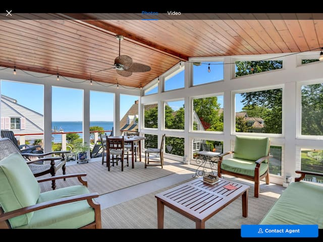 Greenwich, CT with a waterview