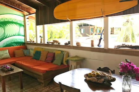 Surf House - in front of the swell. R5s - Pavones - Σπίτι
