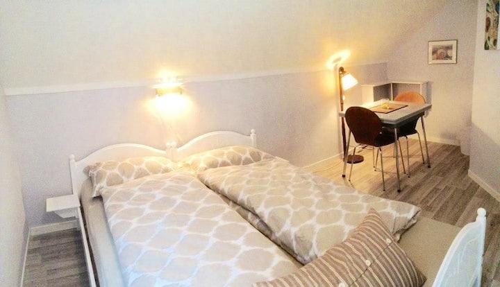 Lofoten Bed&Bike: The double or single room STRAND