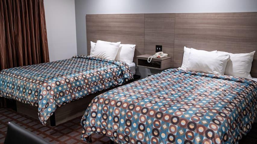 Blue Dolphin Motel room # 7