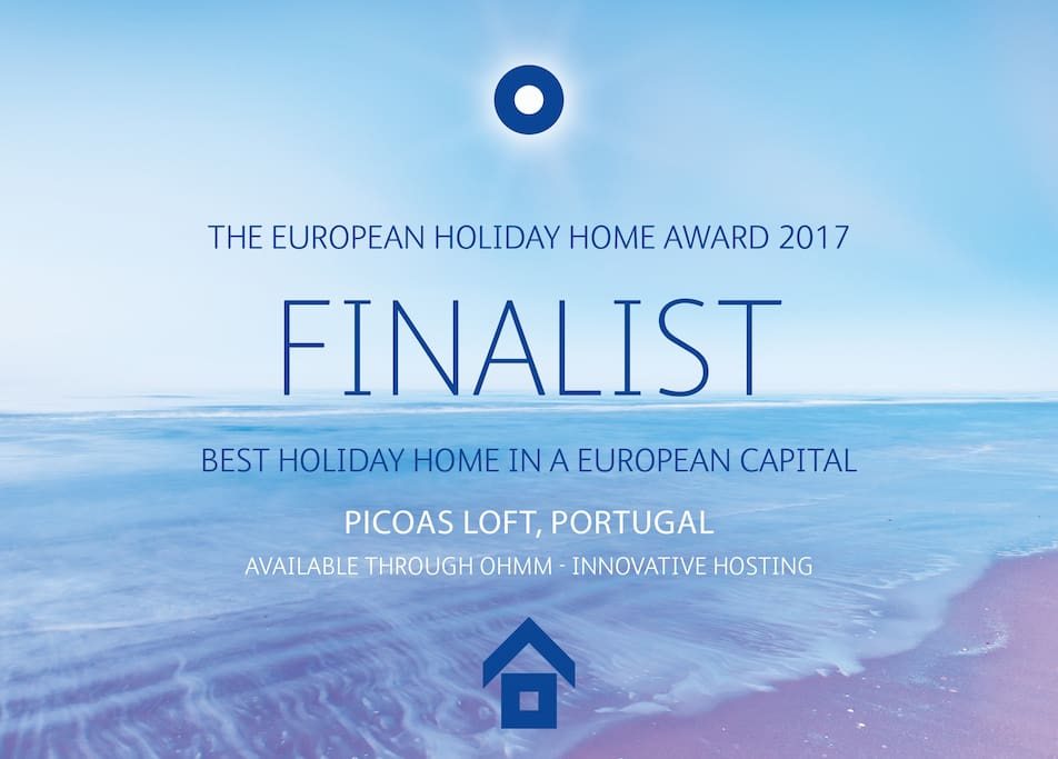 BEST HOLIDAY HOME IN A EUROPEAN CAPITAL 2017 (Finalist)