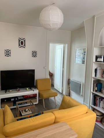 Charming & Cozy Parisian apartement