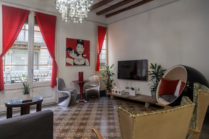 Stylish and comfortable apartment in heart of BCN
