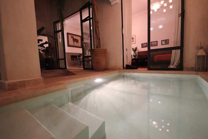 Grande chambre d'hôte à Marrakech : CANNELLE