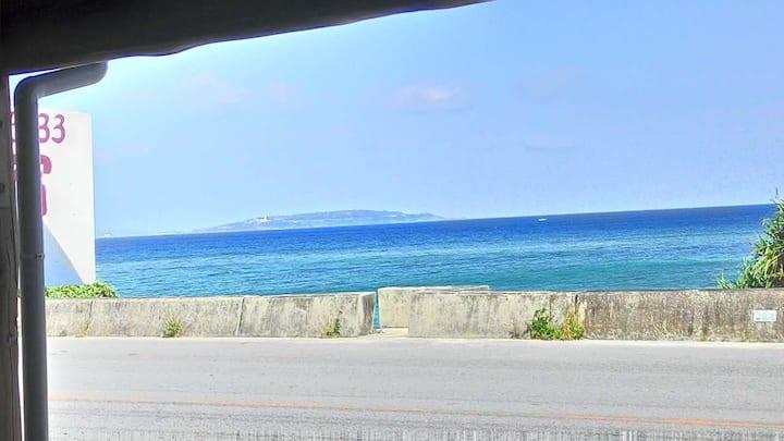 波 ビーチフロントNami beachfront house