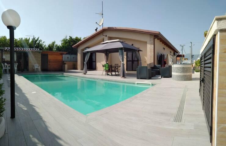 Villa Nocera, Piscina e Relax