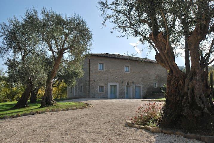 Monnece 11, villa nelle Marche - Cingoli - Cabaña