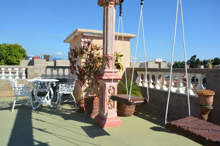 House Cervera, best views of Trinidad from terrace