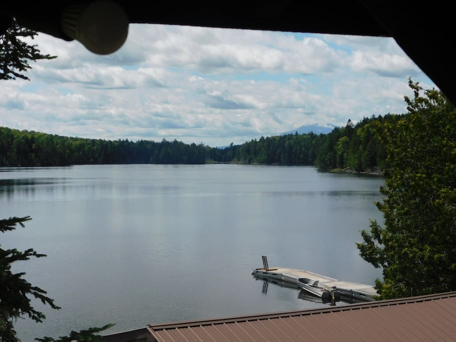 view of Davis Pond From Porch