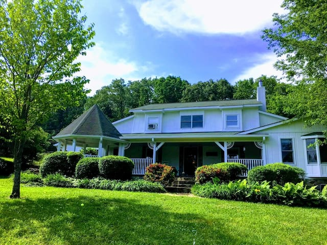 Pondside Porch House