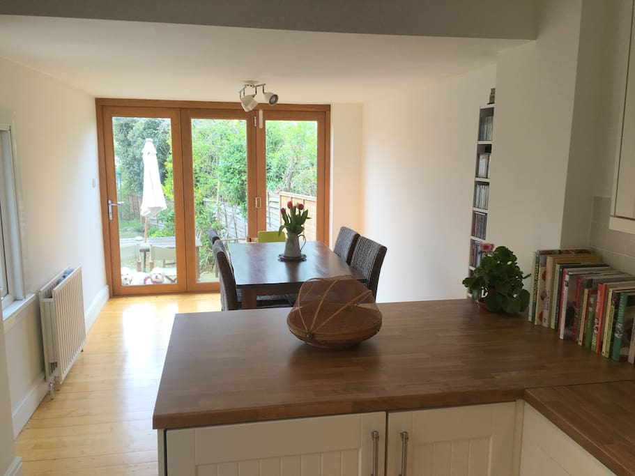 Dining area to rear of kitchen (with view of garden)