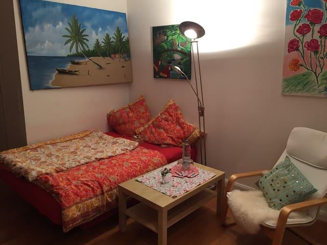 Geräumige Maisonettewohnung - Grünenbach - Apartamento