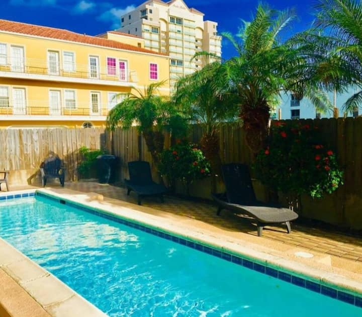 Just steps from the beach- Breezy Beach condo.