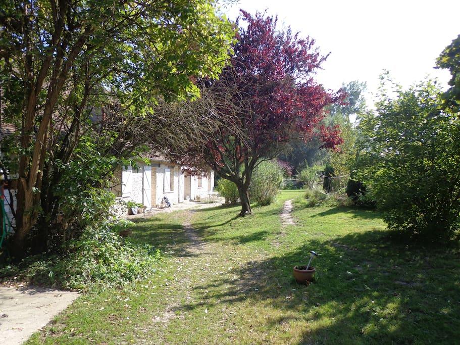 Chbre sdb priv ds une belle long re maisons louer for Maison bazainville