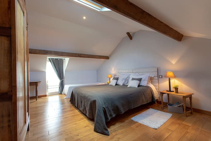 """""""Le Romary""""  chambre  2/3 personnes"""