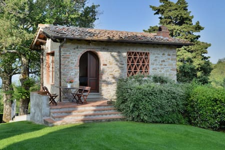 Old hayloft on the Chianti hills - Greve in Chianti - Huis