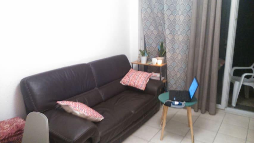 petit appartement 30 m2 T1 avec terrasse
