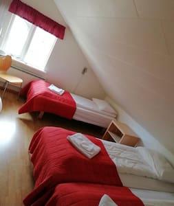Gistiheimilið Bjarmalandi - Triple Room with Shared Bathroom