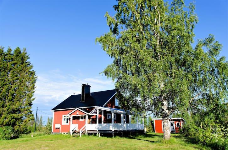 Nordische Träume: Ferienhaus Lappland, Schweden