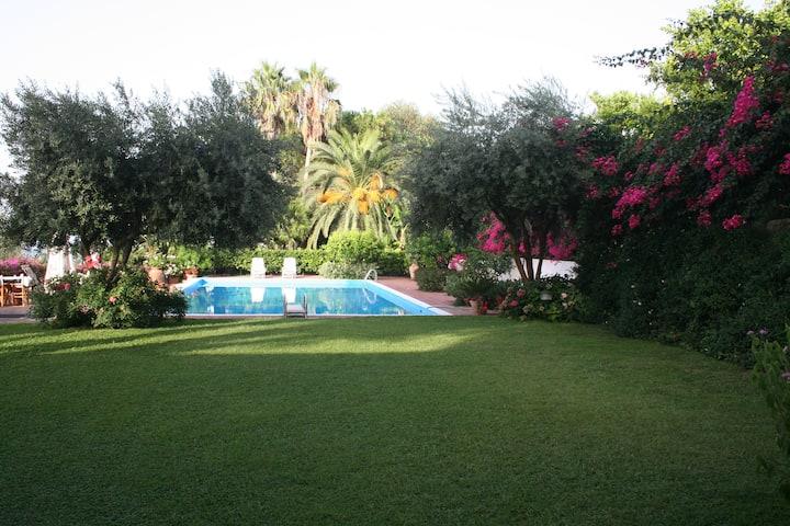 Appartamento   Braghò con piscina  e giardino 1