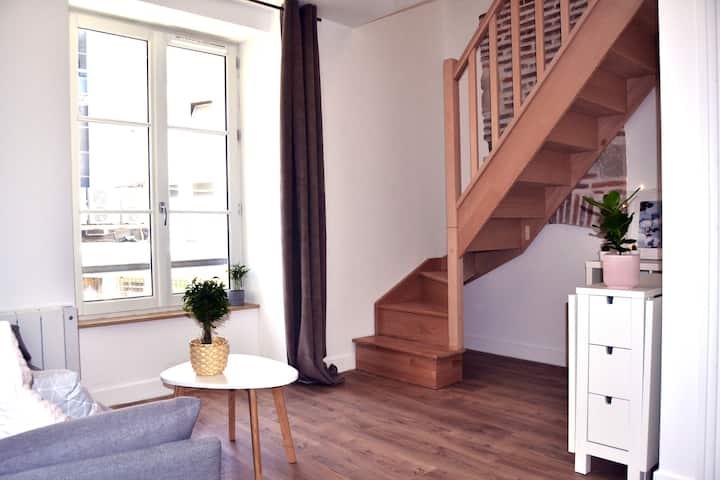 Appartement charme Malmö hyper centre