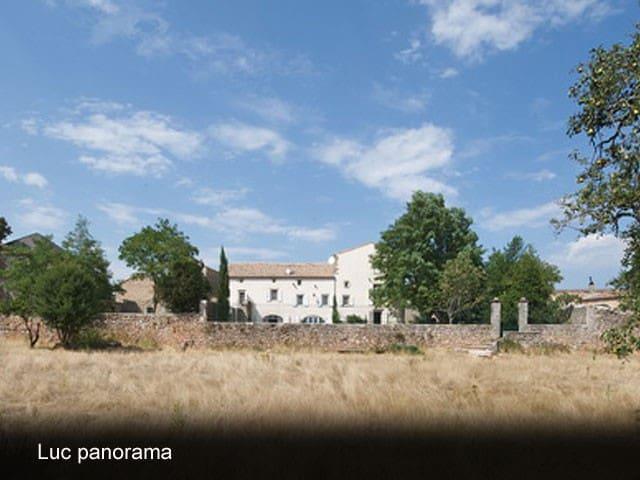 Prieuré du Luc gite de charme Gard - Campestre-et-Luc - House