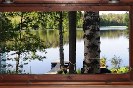 Small cabin and sauna near lake - Mikkeli - キャビン