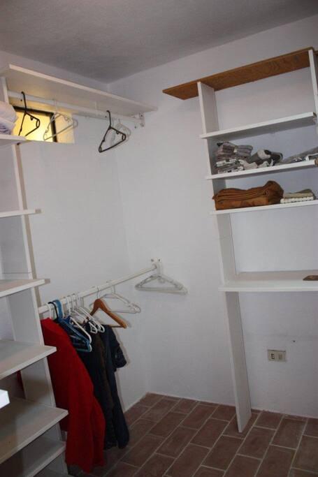 Master BR walk-in-closet
