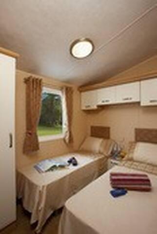 Bedrooms have plenty of storage.