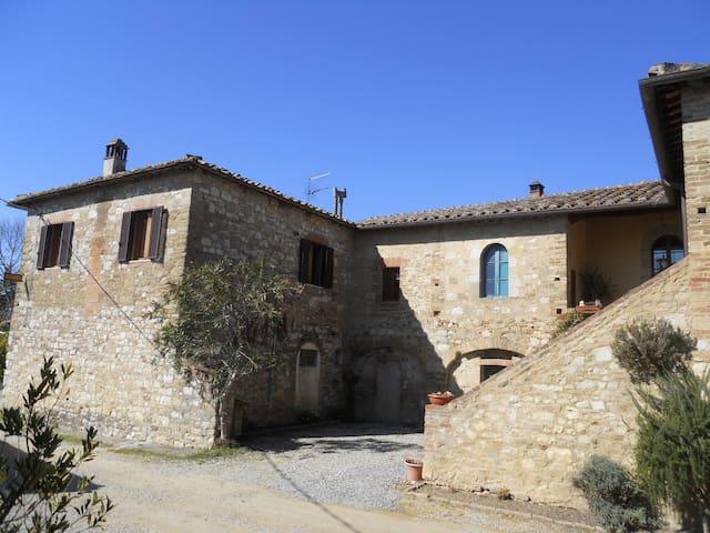 La Casetta del telegrafo in Chianti - Castelnuovo Berardenga - Hus