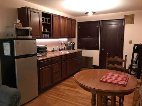 Private in-law suite in great Providence location