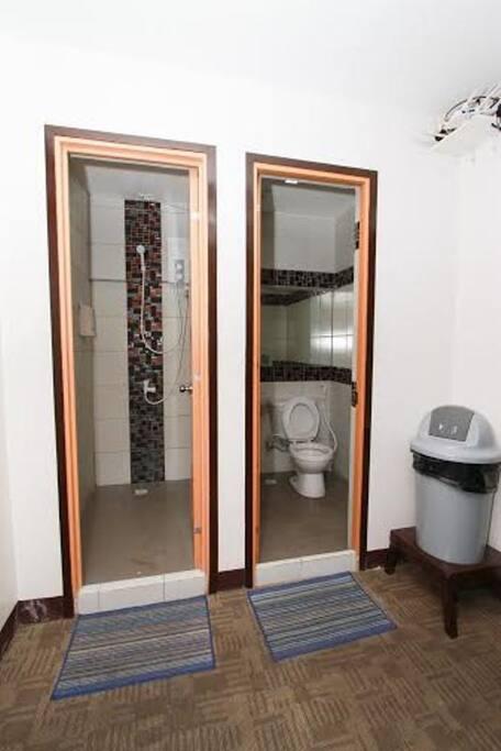 Shared Bathroom (Toilet & Shower)