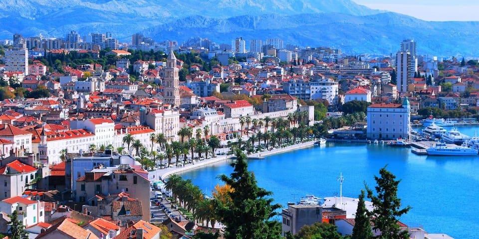 Split city 120 km