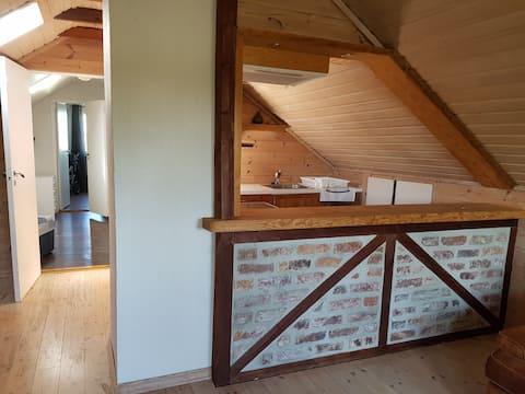 Loft apartment on second floor <UNK> ️ ️