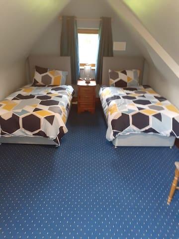 Bedroom 2 - 2/3 single beds