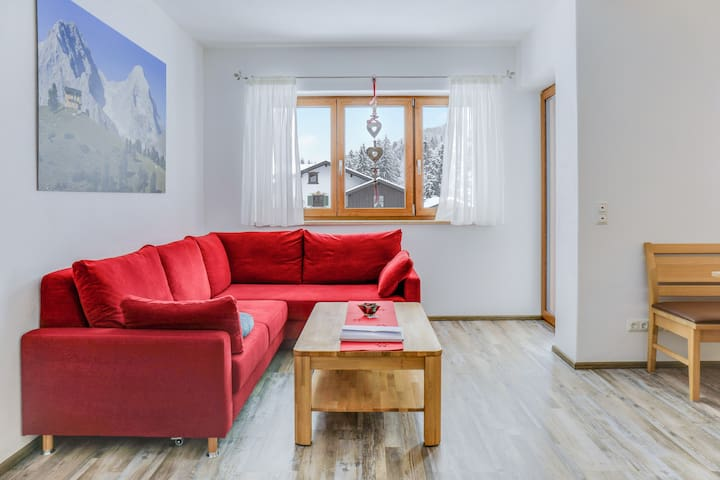 Modern Holiday Apartment Schachen with Mountain View, Wi-Fi & Balcony; Parking Available