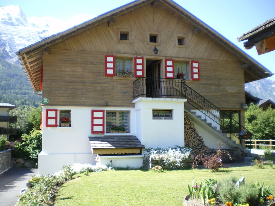 chalet bois traditionnel