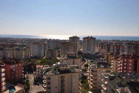 Large penthouse, panoramic view. - Alanya