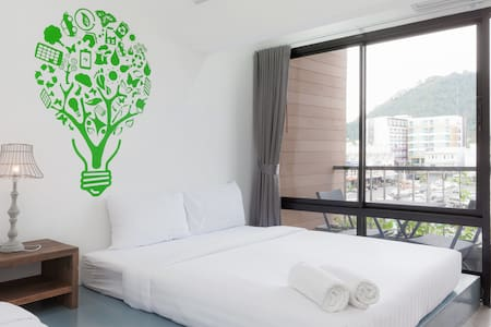Triple Bed Phuket Town City View - ตลาดใหญ่ - 公寓