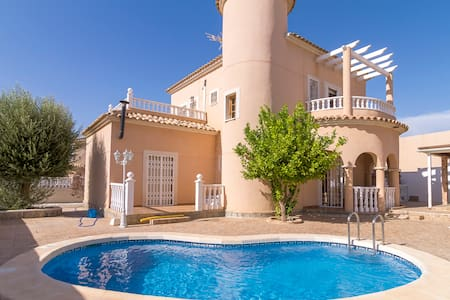Big villa with private pool/garden - Ciudad Quesada - Villa