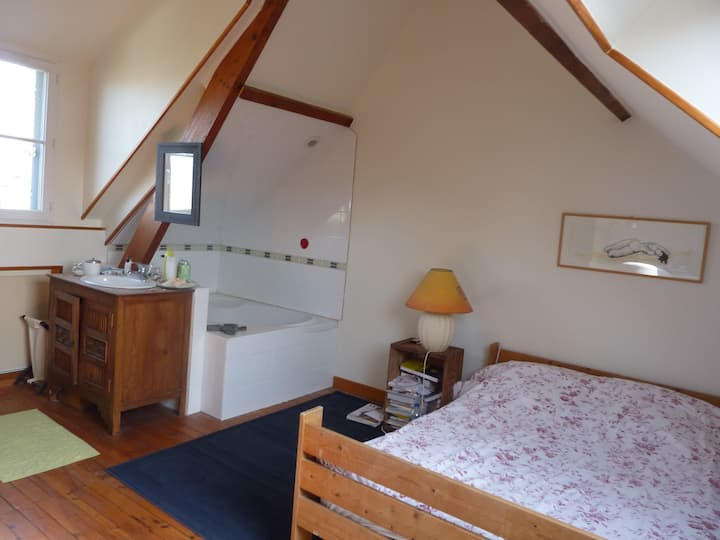 Chambre cosy 10mn petites plages