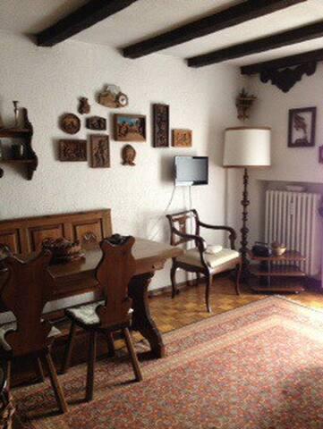 Appartamento con giardinetto privat