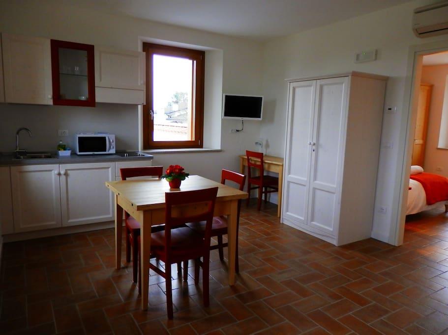 Agriturismo Cjargnei Appartamento quattro posti letto