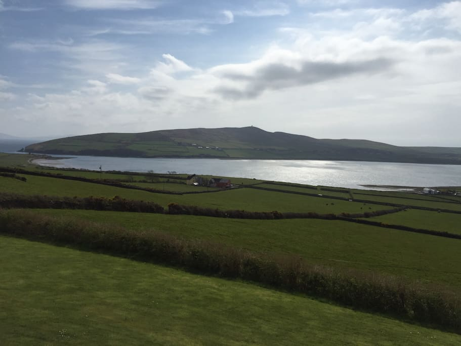 View of Dingle Harbour from the house