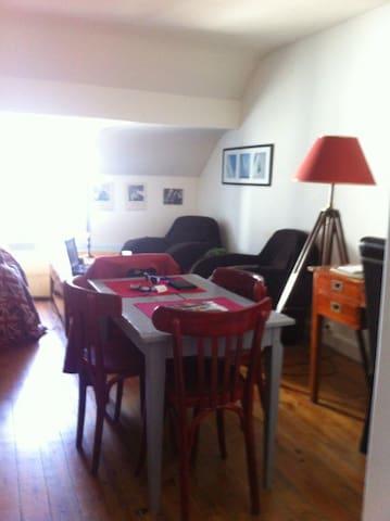 Appartement LE POULIGUEN proche commerces et plage - Le Pouliguen - Byt
