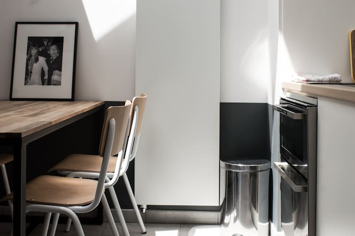 Studio centre ville Lices - Rennes - Apartament