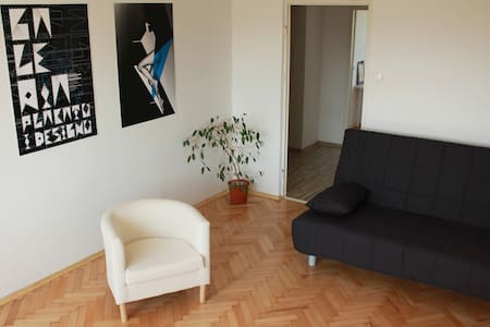 Safe, quiet apt 5 min to centre - Lodz