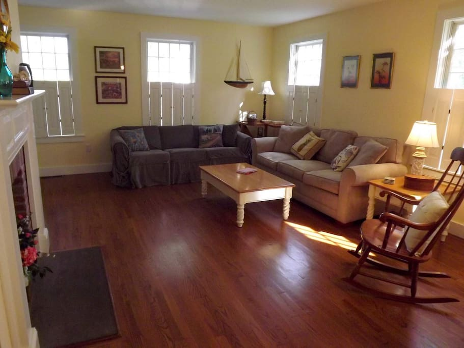 Open first floor plan - great for gathering, relaxing and spending time together