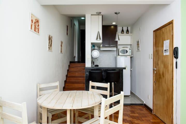 Apê próximo do metrô, Lapa e Centro - Rio de Janeiro - Apartment