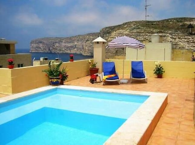 11. Villa apartment one Bedroom w/ Pool - Xlendi - Byt